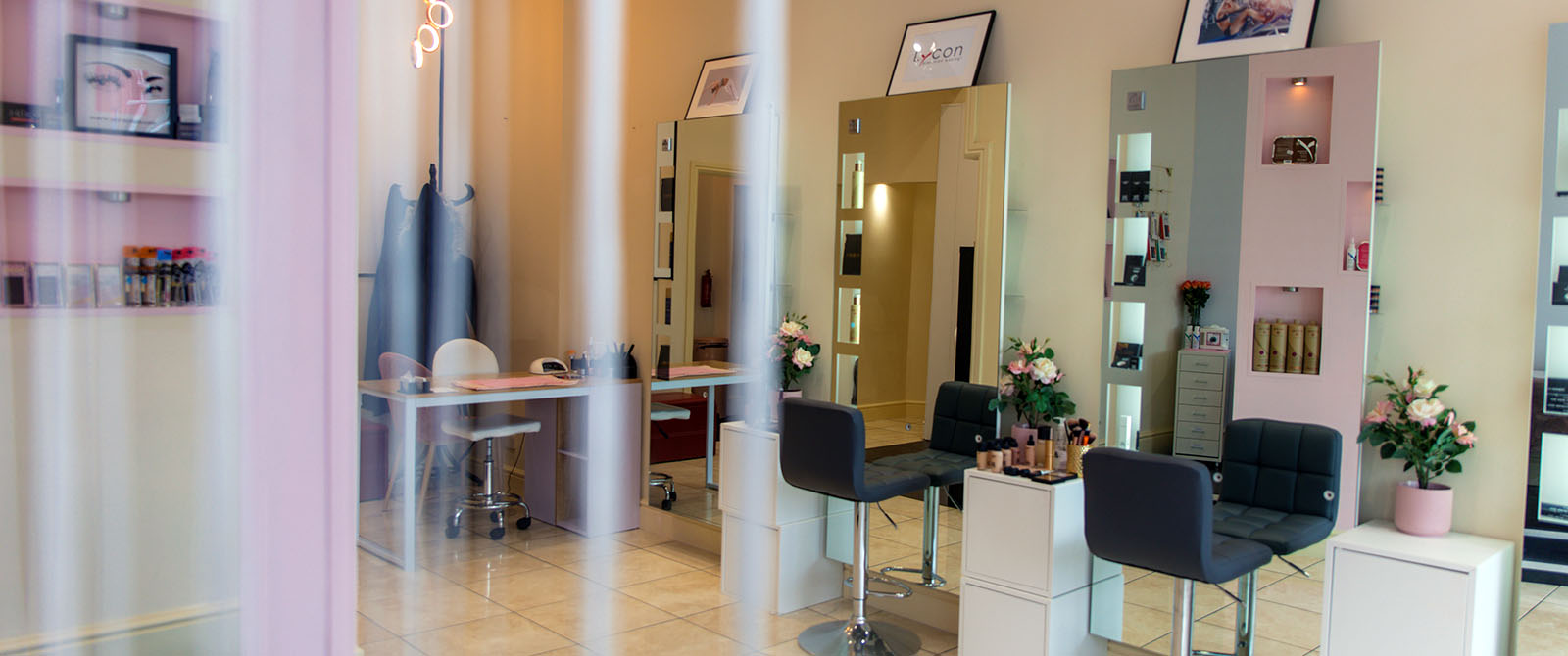 Exclusive beauty salon near Cardiff, in the heart of Penarth